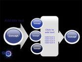 Virus In Dark Blue PowerPoint Template#17