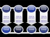 Virus In Dark Blue PowerPoint Template#18