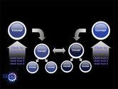 Virus In Dark Blue PowerPoint Template#19