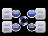 Virus In Dark Blue PowerPoint Template#9