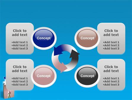 Balloon Box PowerPoint Template Slide 9