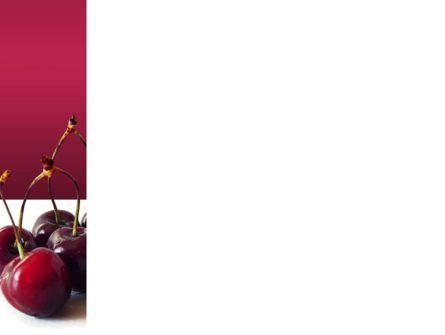 Ripe Cherries PowerPoint Template, Slide 3, 03367, Agriculture — PoweredTemplate.com
