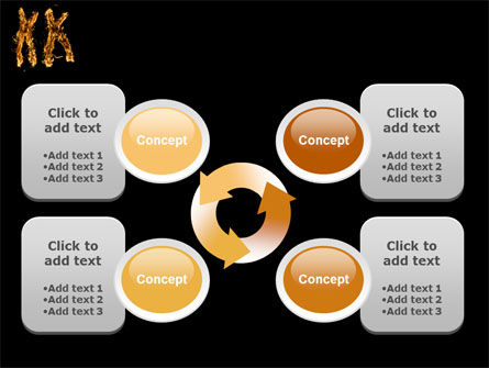 Chromosome PowerPoint Template Slide 9