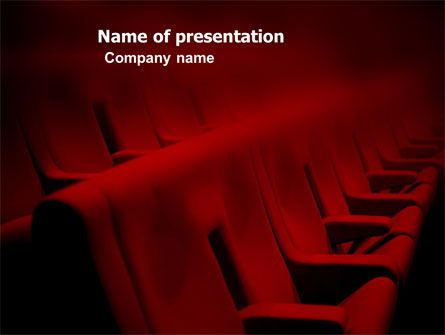Art & Entertainment: Premiere PowerPoint Template #03369