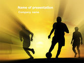 Sports: European Football PowerPoint Template #03372