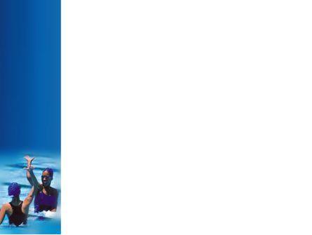 Winners In Swimming Pool PowerPoint Template, Slide 3, 03374, People — PoweredTemplate.com