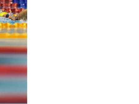 Swimming Contest PowerPoint Template, Slide 3, 03375, Sports — PoweredTemplate.com