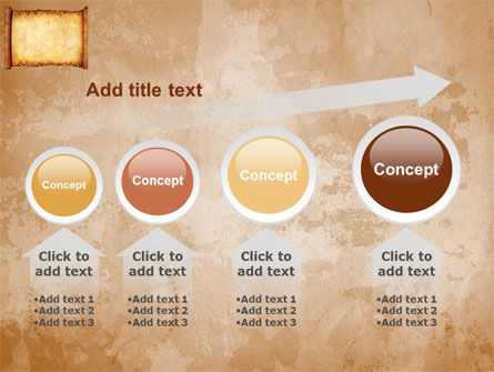 Scroll PowerPoint Template Slide 13