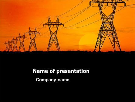 Transmission facilities powerpoint template backgrounds 03380 transmission facilities powerpoint template toneelgroepblik Gallery