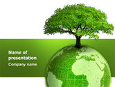 Nature & Environment: Yggdrasill PowerPoint Template #03382
