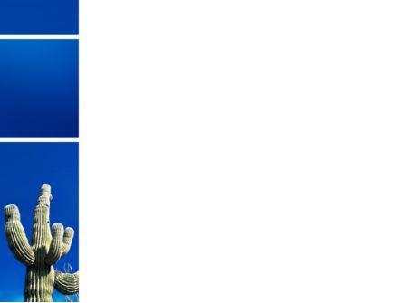 Desert Cactus PowerPoint Template, Slide 3, 03383, Nature & Environment — PoweredTemplate.com