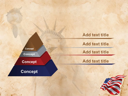 American Stars and Stripes Flag PowerPoint Template Slide 12