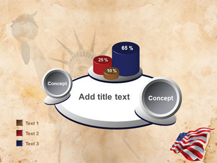 American Stars and Stripes Flag PowerPoint Template Slide 16