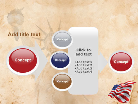 American Stars and Stripes Flag PowerPoint Template Slide 17