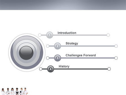 Medical Interns PowerPoint Template, Slide 3, 03390, Medical — PoweredTemplate.com