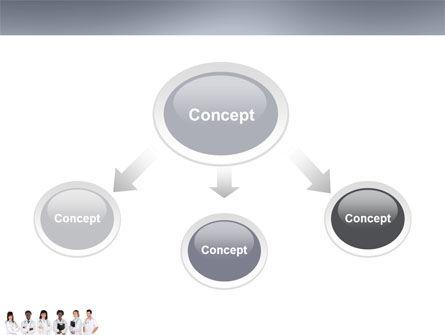 Medical Interns PowerPoint Template, Slide 4, 03390, Medical — PoweredTemplate.com