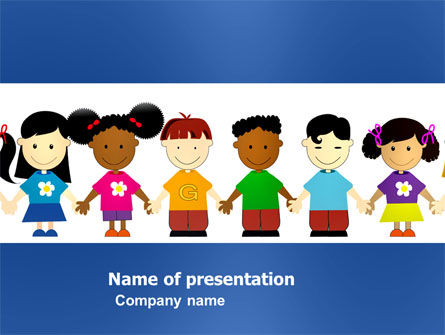 Education & Training: Childhood PowerPoint Template #03391