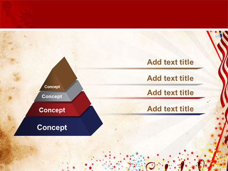 4th of July Celebration Free PowerPoint Template Slide 12