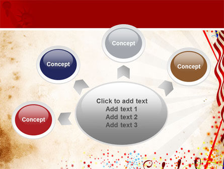 Free 4th of July Celebration PowerPoint Template Slide 7