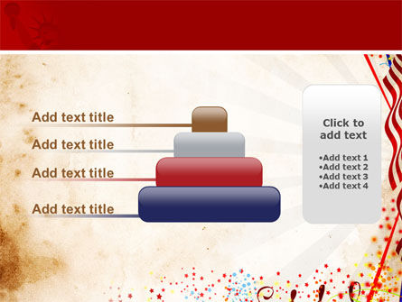 4th of July Celebration Free PowerPoint Template Slide 8