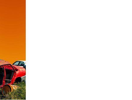 Car Dump PowerPoint Template, Slide 3, 03394, Utilities/Industrial — PoweredTemplate.com