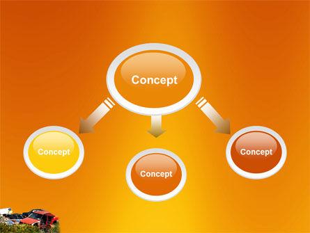 Car Dump PowerPoint Template, Slide 4, 03394, Utilities/Industrial — PoweredTemplate.com