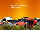 Utilities/Industrial: Car Dump PowerPoint Template #03394