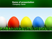Holiday/Special Occasion: Easter Eggs PowerPoint Template #03396
