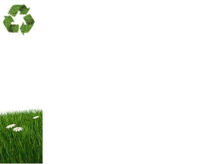 Recycling Symbol PowerPoint Template, Slide 3, 03397, Nature & Environment — PoweredTemplate.com