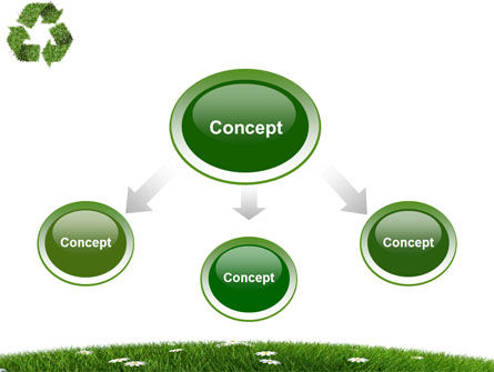 Recycling Symbol PowerPoint Template, Slide 4, 03397, Nature & Environment — PoweredTemplate.com