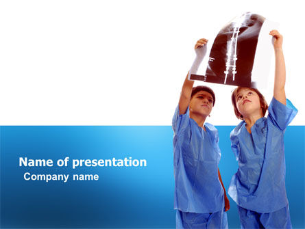 Education & Training: Radiology PowerPoint Template #03398