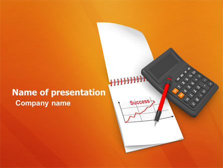 Financial/Accounting: Financial Analytics PowerPoint Template #03400