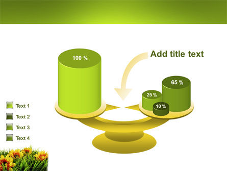 Yellow Flower PowerPoint Template Slide 10
