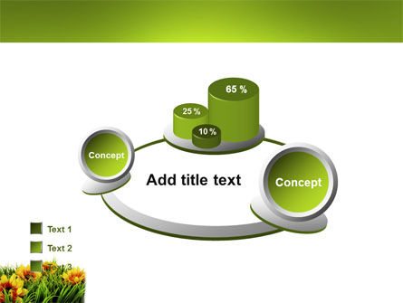 Yellow Flower PowerPoint Template Slide 16