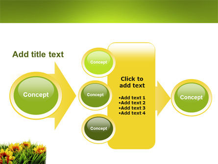 Yellow Flower PowerPoint Template Slide 17