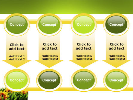 Yellow Flower PowerPoint Template Slide 18