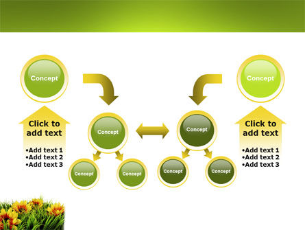 Yellow Flower PowerPoint Template Slide 19