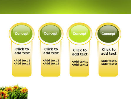 Yellow Flower PowerPoint Template Slide 5