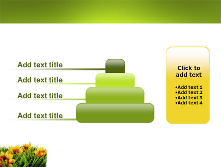 Yellow Flower PowerPoint Template Slide 8