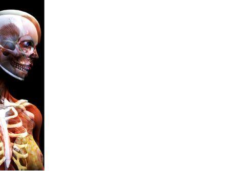 Female Anatomy Breast And Facial Bones PowerPoint Template, Slide 3, 03404, Medical — PoweredTemplate.com