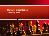Sports: Strategy Game PowerPoint Template #03405