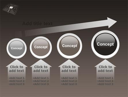 Maze PowerPoint Template Slide 13
