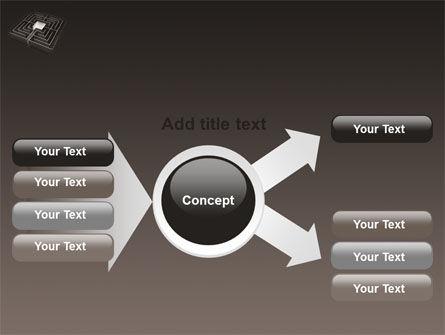 Maze PowerPoint Template Slide 14