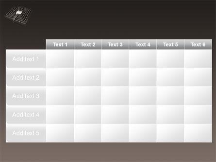 Maze PowerPoint Template Slide 15