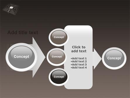 Maze PowerPoint Template Slide 17