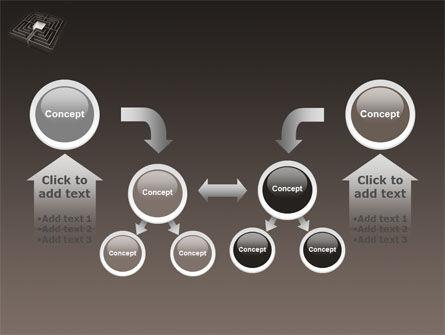 Maze PowerPoint Template Slide 19