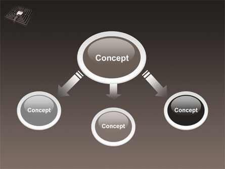 Maze PowerPoint Template, Slide 4, 03409, Business Concepts — PoweredTemplate.com