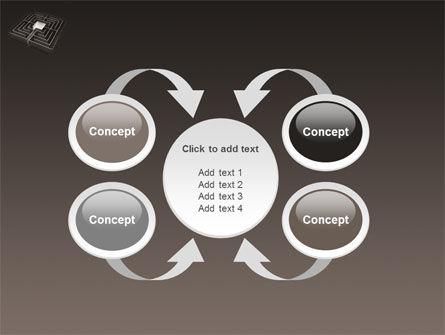 Maze PowerPoint Template Slide 6