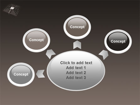 Maze PowerPoint Template Slide 7