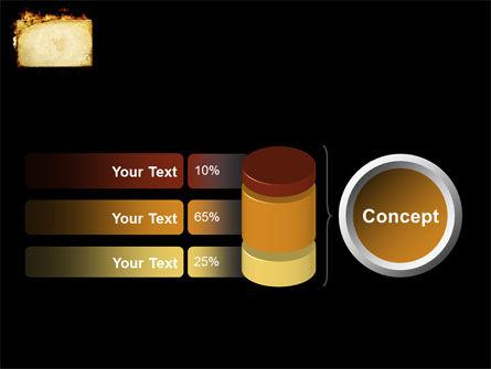 Fire Board PowerPoint Template Slide 11